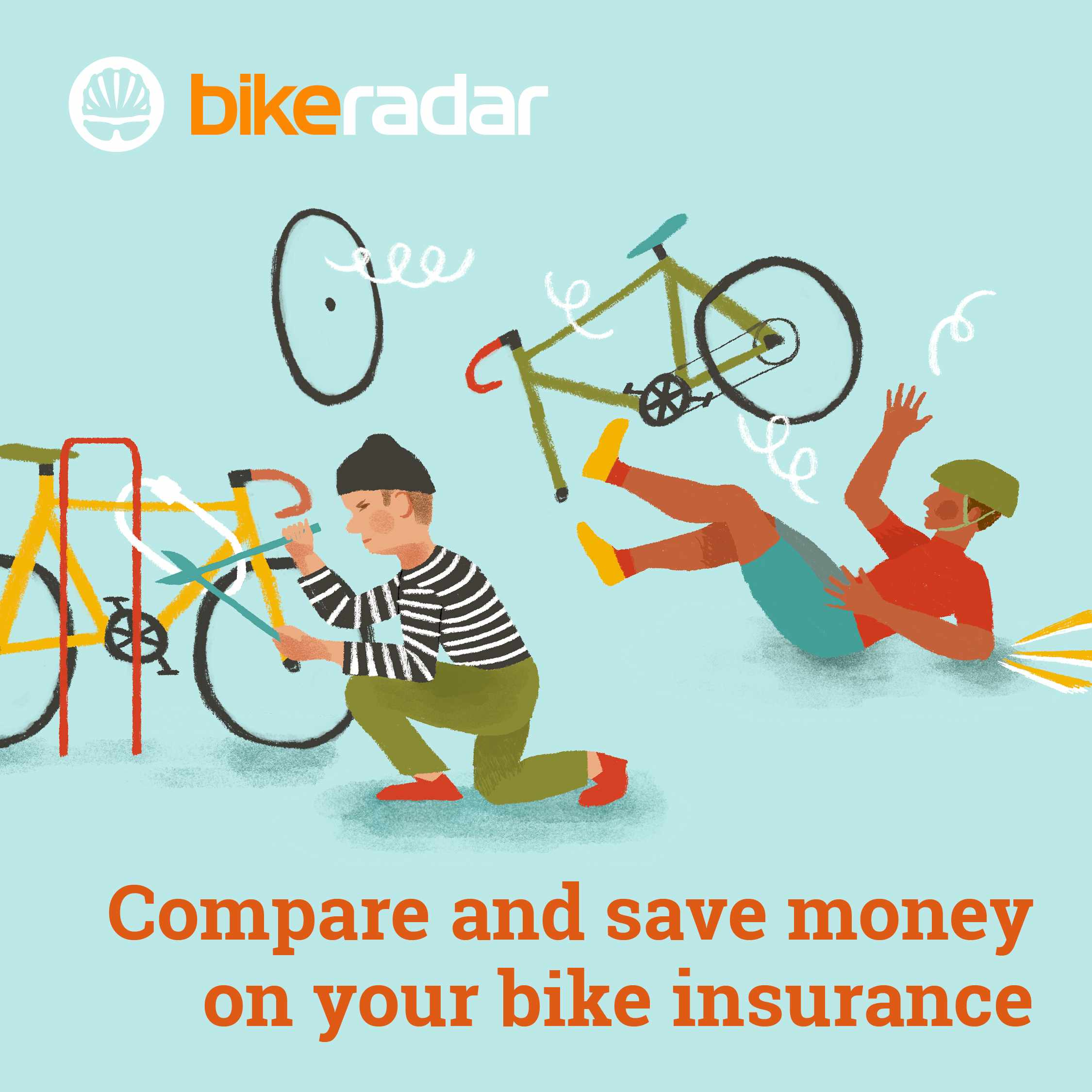 Compare cycling insurance