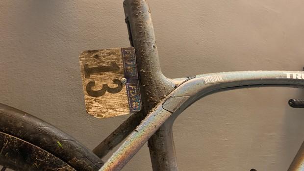 Lizzie Deignan's Trek Domane reflex for Paris-Roubaix