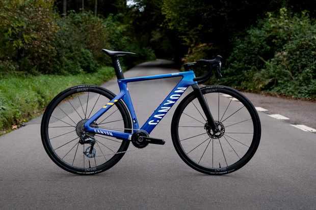 Max Stedman's custom 6.7kg Canyon Aeroad CFR Everesting bike