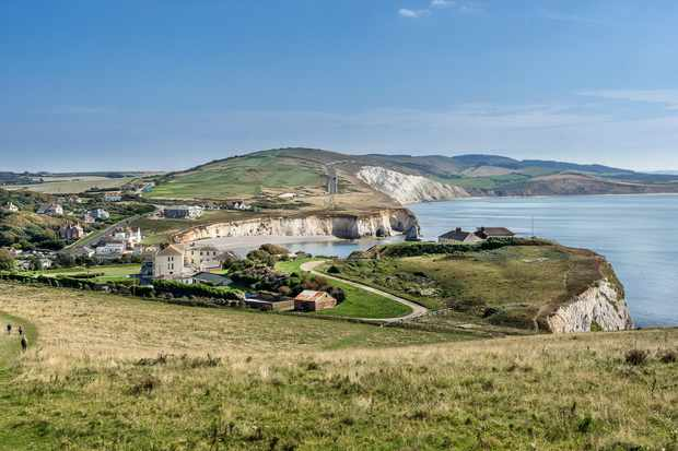 Tennyson Down and Freshwater Bay