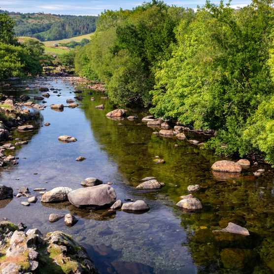 River Duddon in the Lake District National Park