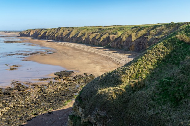Blackhall Rocks Beach, County Durham ©Getty