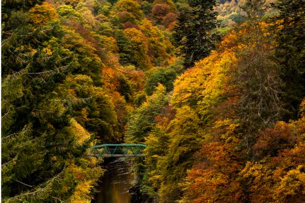 Garry Bridge, Perthshire