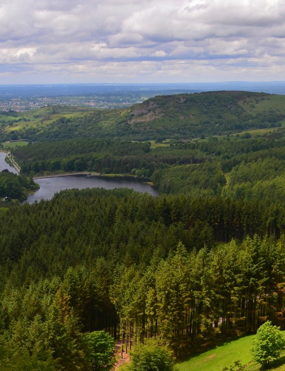 Trentabank reservoir and Macclesfield Forest