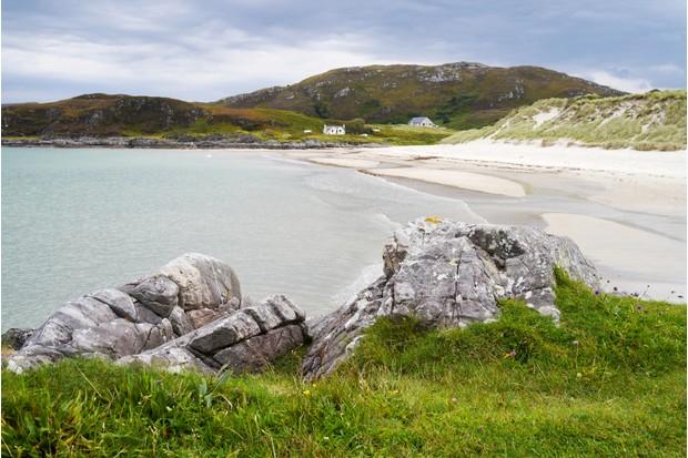 Camusdarach Beach, Arisaig, in the Highlands of Scotland, UK