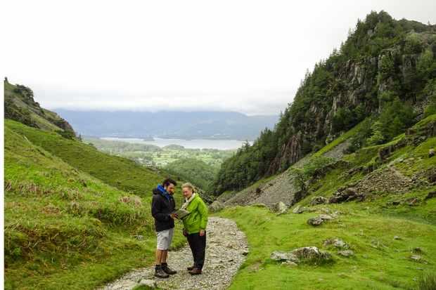 Castle Crag, Lake District