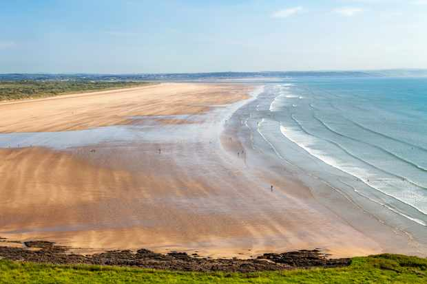 Saunton Sands and Braunton Burrows on South West Coastal Path