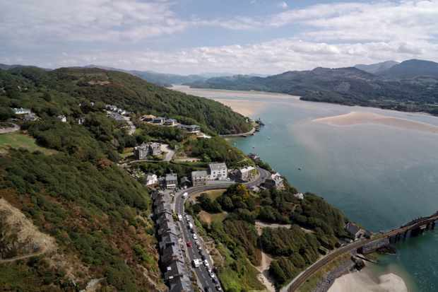Barmouth in Snowdonia, Wales