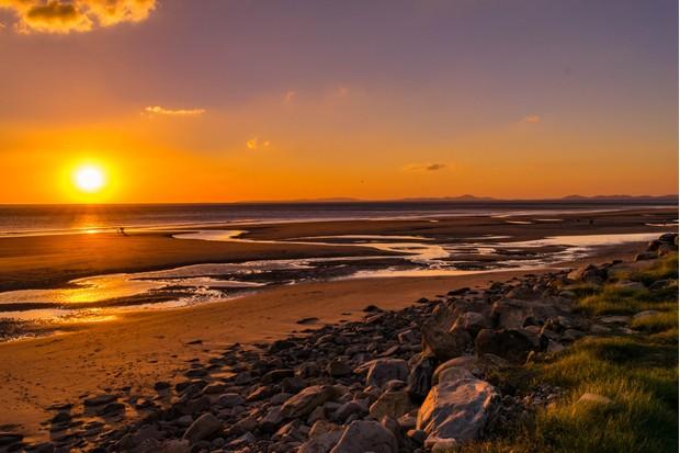 Barmouth Bay sunset