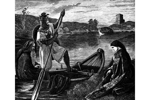 Illustration of King Arthur