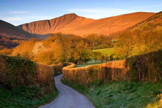 Brecon beacons - one of the best places to visit in a campervan uk