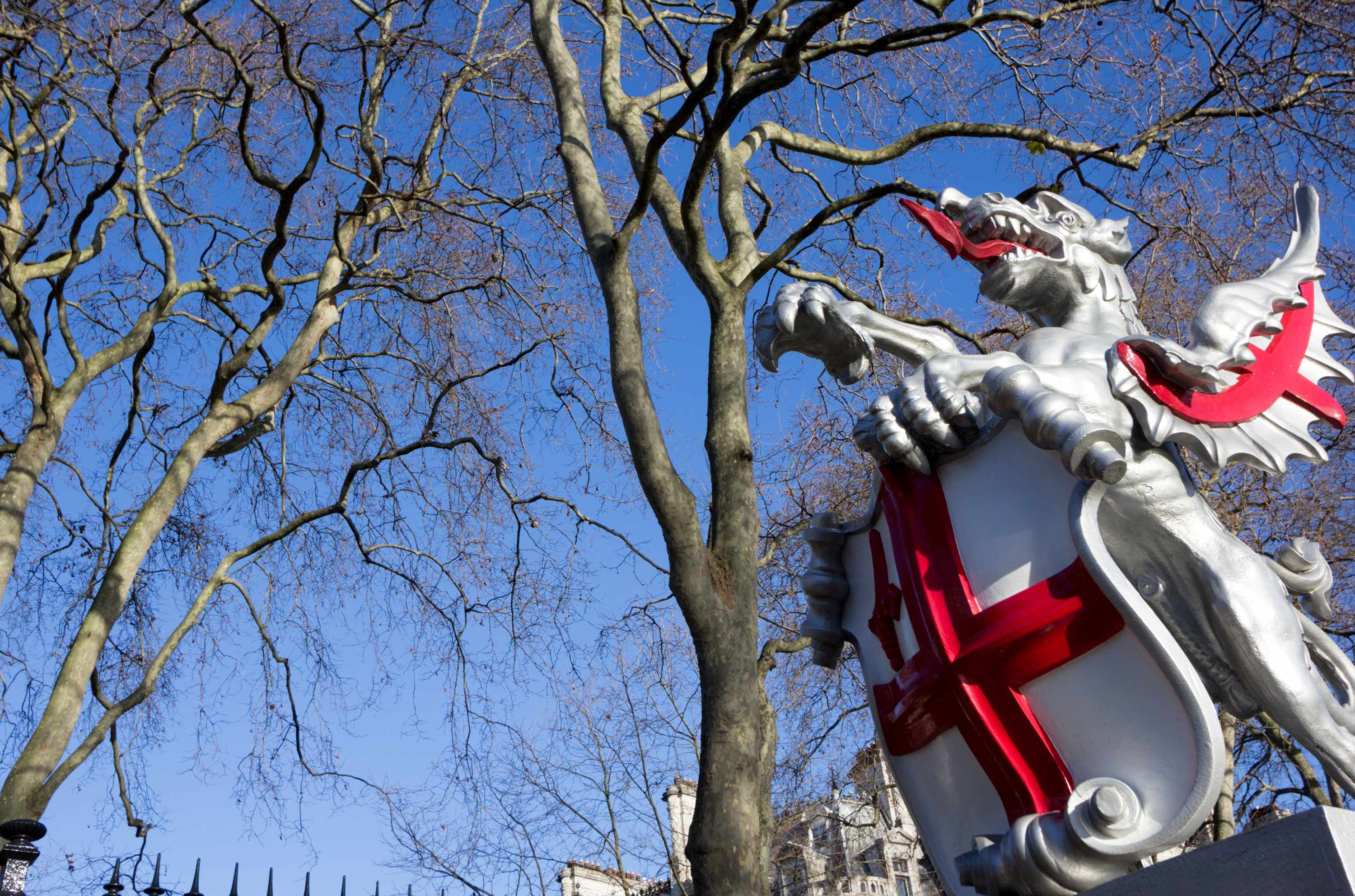 Boundary Dragon on Victoria Embankment, London