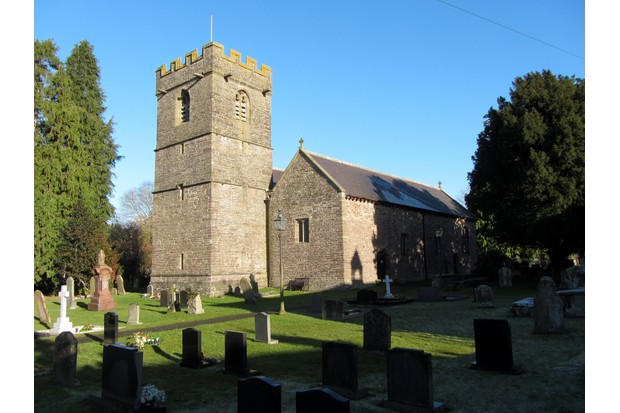 Llangors Church, Wales