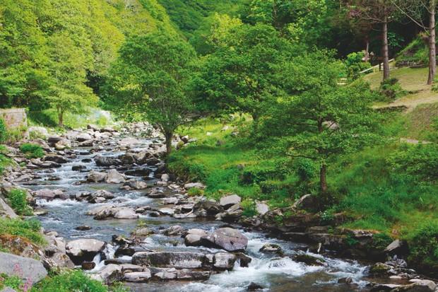 East Lyn River, Devon