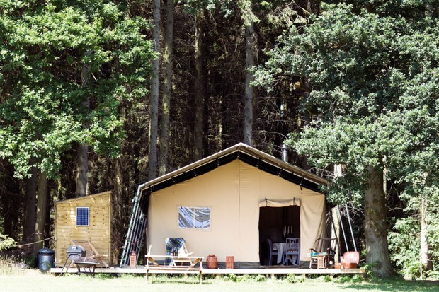 Camp Katur safari in Bedale, Yorkshire