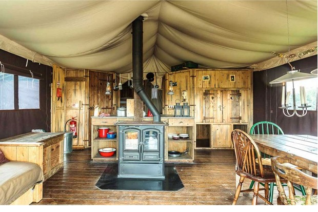 Chesters glamping in Jedburgh Scottish Borders