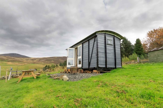 Eco camp in Glenshee, Perthshire