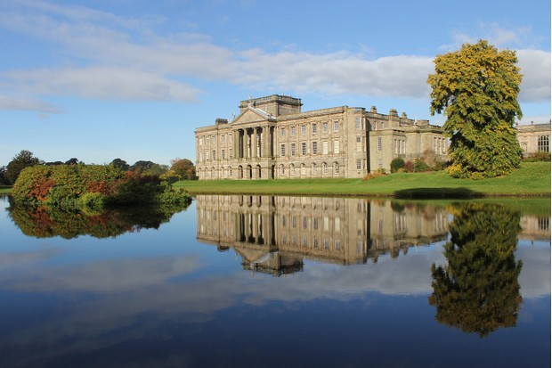 Lyme Park estate with its manor house and deer park has been a favourite with Peak District visitors ever since Colin Firth emerged from the adjoining lake in the 1995s BBC mini-series version of Jane Austen's Pride & Prejudice. (Getty Images)