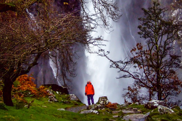Aber Falls, Snowdonia