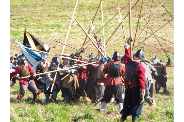 Battle of Dunbar re-enactment