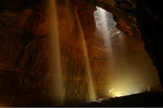 Gaping Gill, North Yorkshire ©Getty