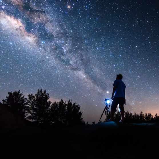 Milky Way stargazing at Kielder Observatory