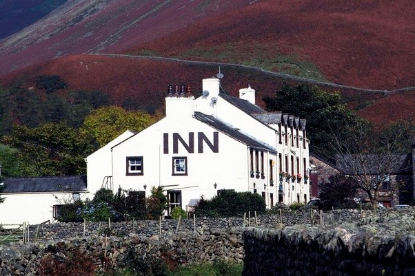 Wasdale Inn in the English Lake District