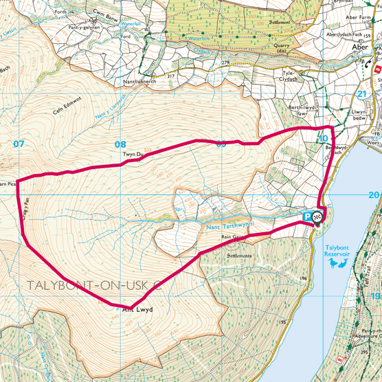 Carn Pica map