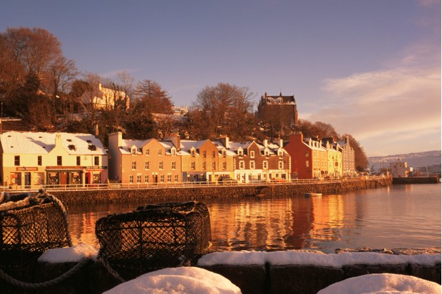 Tobermory in winter