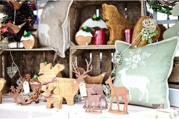 Christmas craft stall