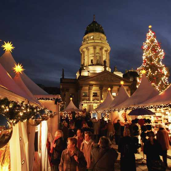 The UK's best Christmas Markets (Photo by: Getty Images)