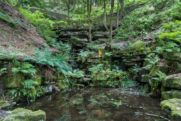 The Ravine at Rivington Terraced Gardens ©Getty