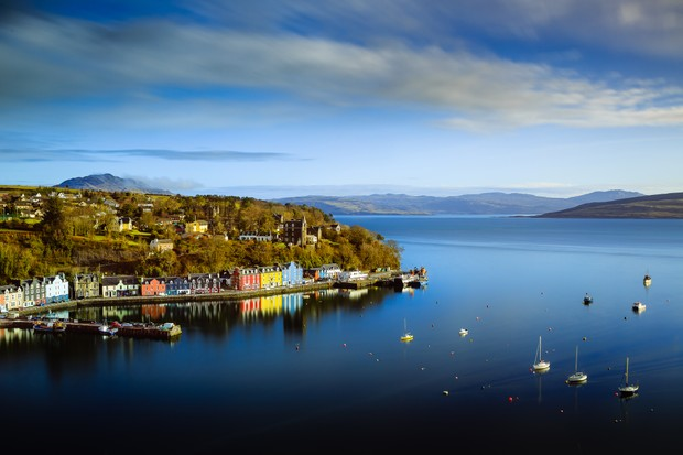 Tobermory on the Isle of Mull, Scotland