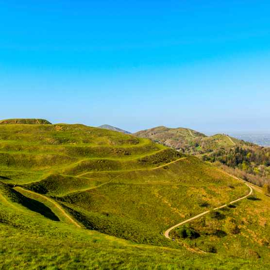 British Camp, the Malvern Hills