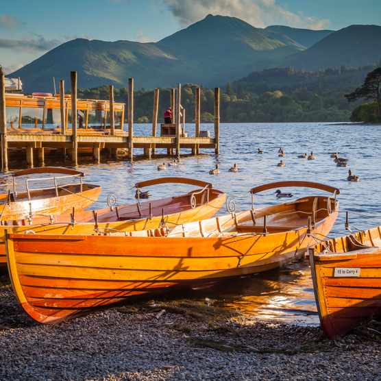 Boats at Keswick Landings