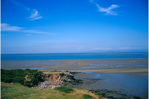 Heysham Sands are on the shoreline of Heysham. This area has been inhabited since the Stone Age. (Getty)