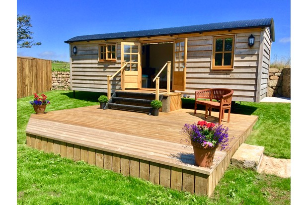 Shepherd's Hut, Cornwall