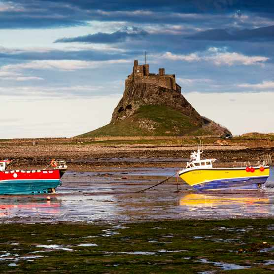 Low Tide on Holy Island
