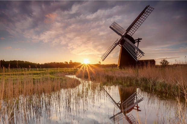 Herringfleet Windmill, Norfolk