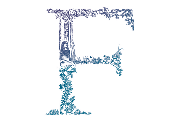 F is for forest bathing