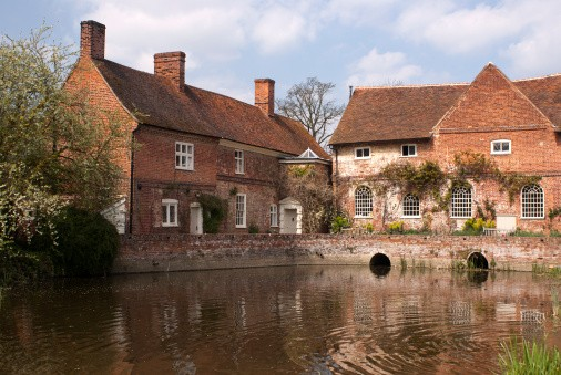 Flatford Mill, Constable country,essex,england