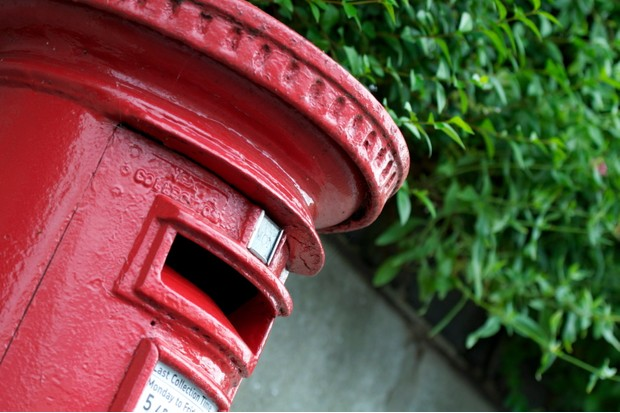 English Red Post Box