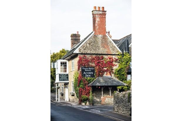 The Acorn Inn in Evershot