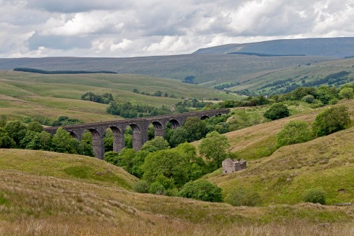Dent Viaduct Yorkshire.