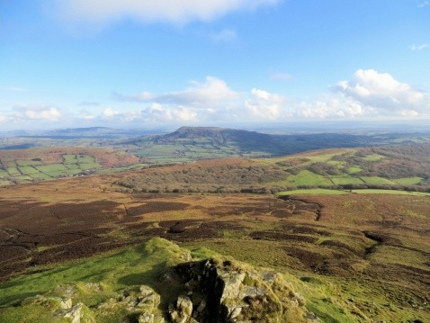 Skirrid from Sugar Loaf
