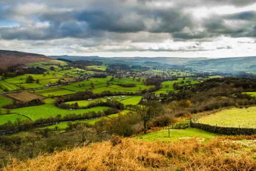 View of the Peak District