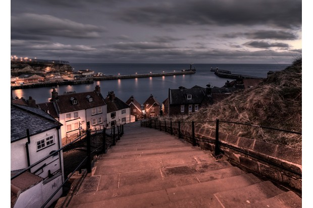 Another morning over 199 steps, Whitby, United Kingdom