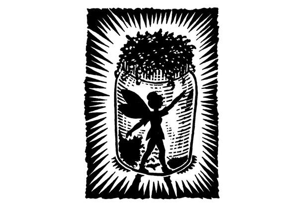 Create your own fairy jar