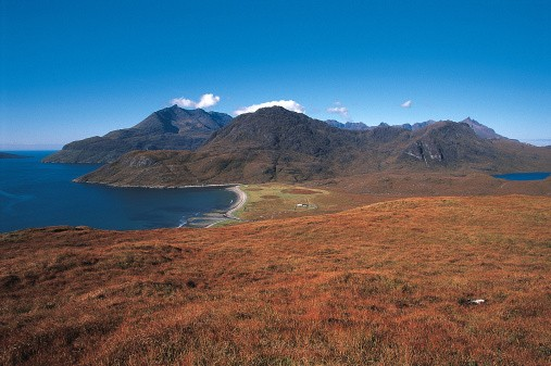 Camasunary and the Black Cuillin