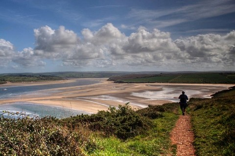 A beautiful view at low tide on the river Camel near Padstow. Photographer Rosie Spooner, Devon.